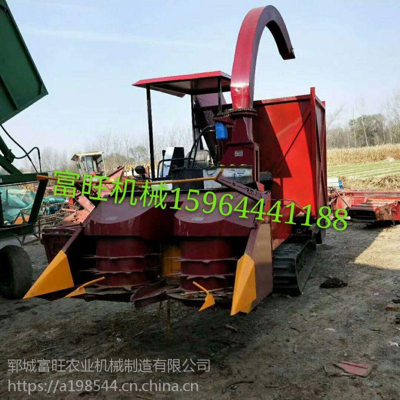 自走式玉米秸秆收获机 内蒙大型青储收割机 履带式牧草收割机