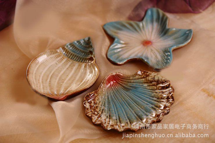 新品8.3元老虎陶瓷原价海星扇贝海螺/装饰盘/碟九阴果盘怎么抓百兽图片