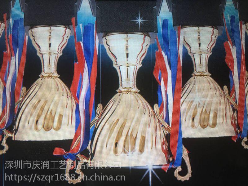 深圳实力厂家专业定制金属奖杯 欢迎询价
