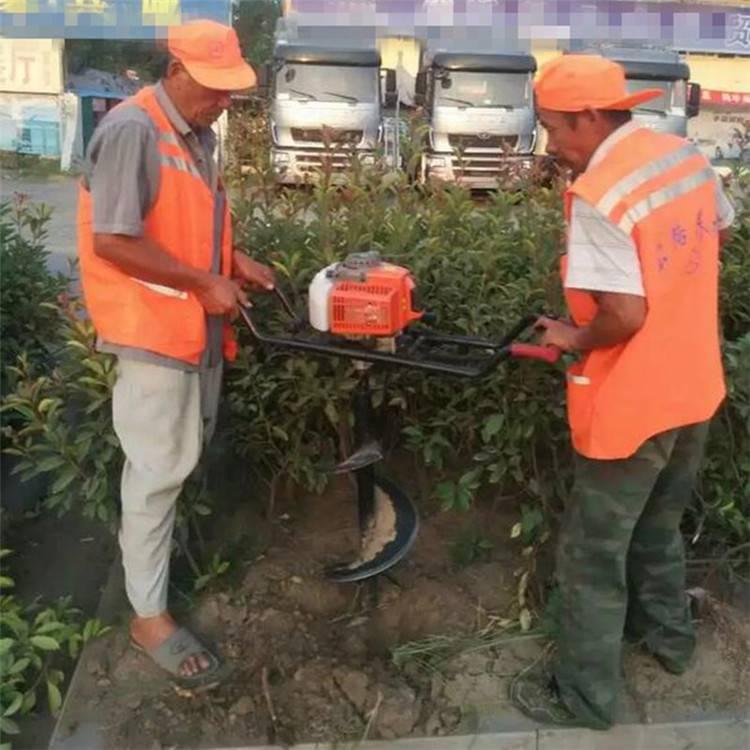 运输方便植树打眼机 葡萄栽种挖坑机