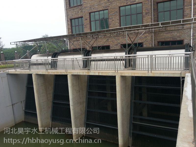 河北昊宇水工HQN-2.0*8.0米-75º回转清污机按规格定制厂家价格