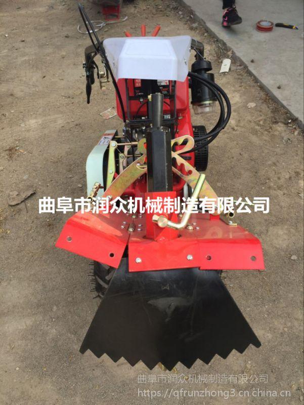 土地管理机 柴油开沟培土机 种植起垄机