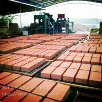 郑州天匠彩砖机设备厂 6-15型彩砖机 便道透水砖机 免烧水泥制砖机