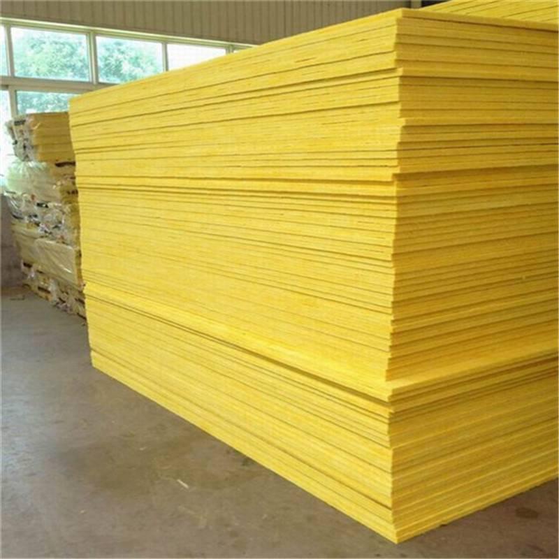 设计加工玻璃棉卷毡贴面 6公分环保玻璃棉板