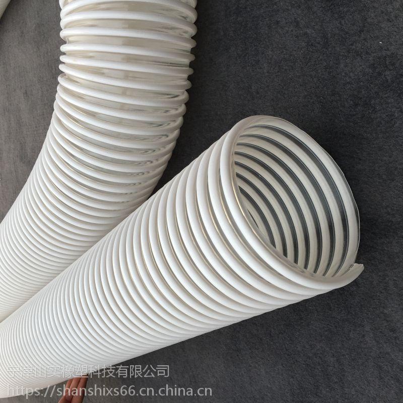 石油管专用PU防静电塑筋软管 防静电塑筋透明管子