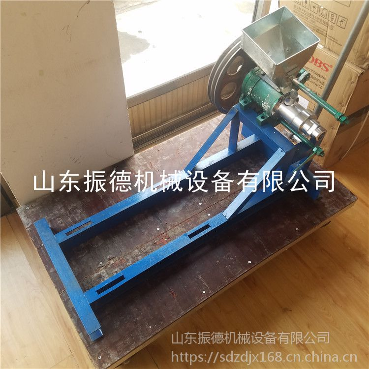 自动切断玉米膨化机 玉米爆花机 热销江米棍机器 振德厂家