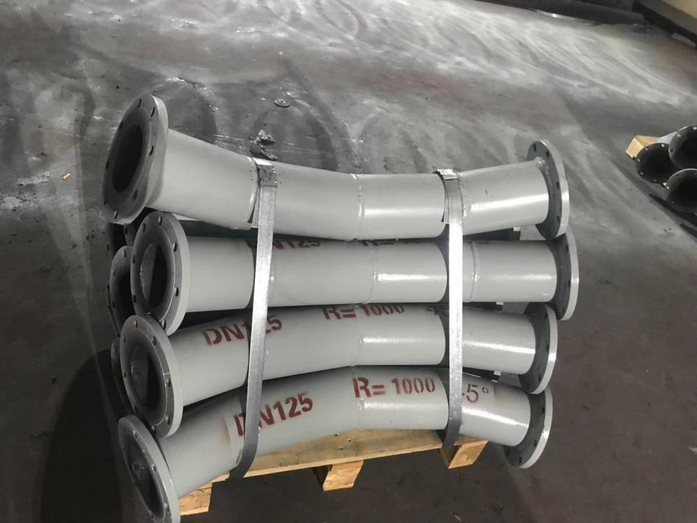泰拓供应耐腐蚀背包式耐磨陶瓷弯头