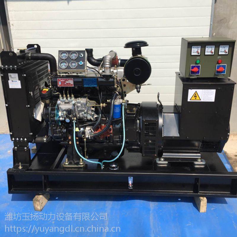 威海50千瓦柴油发电机组房地产专用50kw全铜柴油发电机 潍柴系列