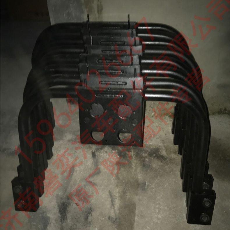 陕汽重卡 德龙原厂新M3000后悬横梁 龙门架 新M3000横梁总成 牵引DZ15221443042