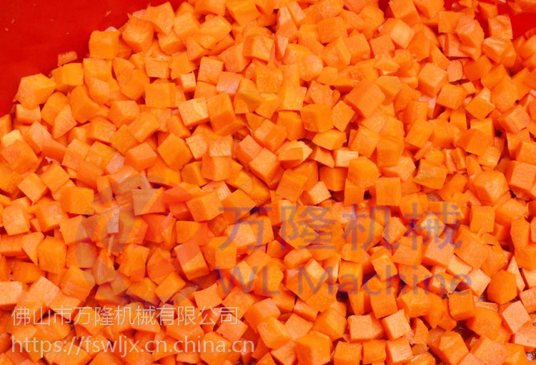 大型高速切丁机 304不锈钢切火腿粒机 芋头 土豆 地瓜切条机