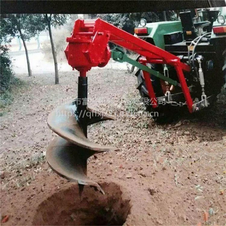 双人操作挖坑机 汽油便携式植树打孔机 山坡地种植用打眼机图片