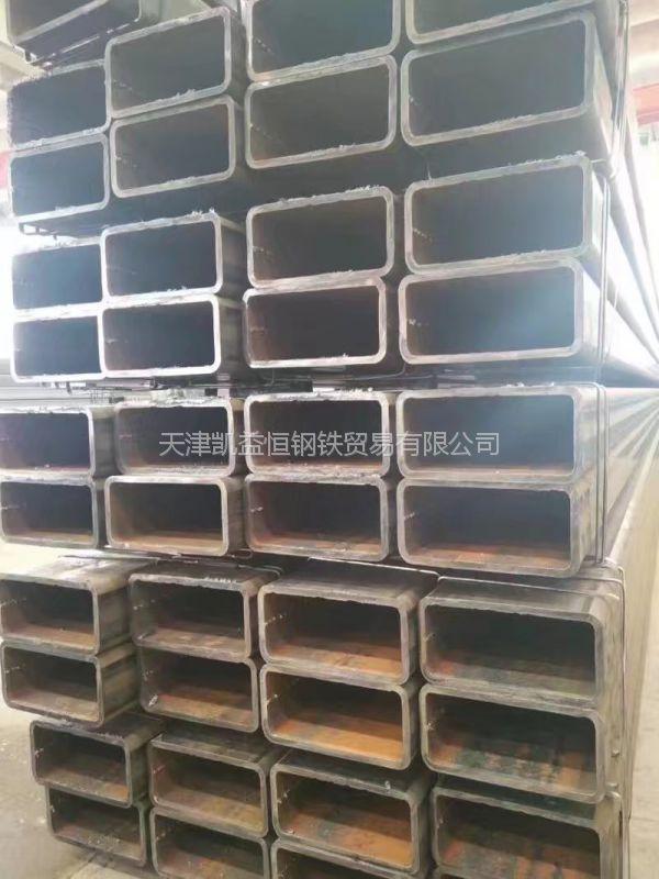 天钢Q345B合金方矩管 Q345B无缝矩形管 大口径厚壁矩形管