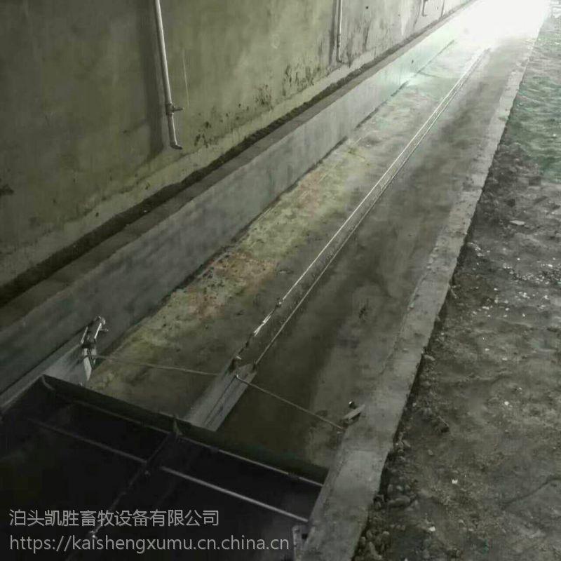 厂家直销畜牧设备 不锈钢刮粪板 304不锈钢刮粪机 粪尿分离机