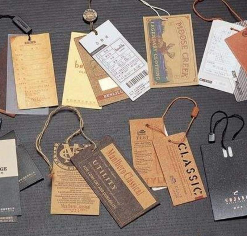 跨境服装中文标签(适用于吊牌),规格定制