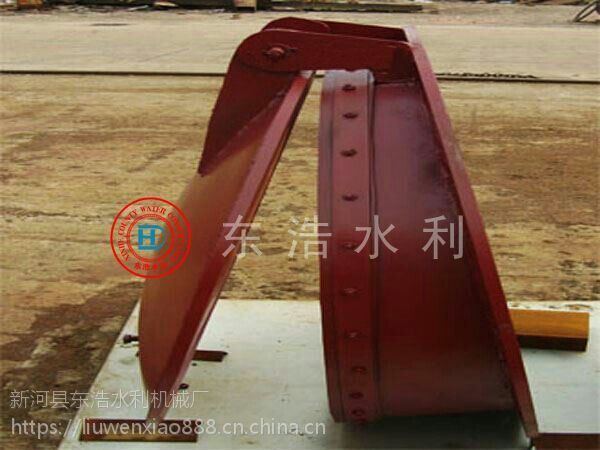300渠道管道铸铁拍门价格&dn400东浩铸铁圆拍门多少钱一台