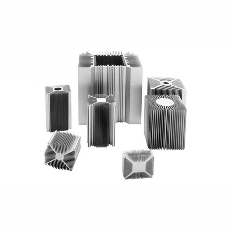 铝型材散热器来图来样定制开模6063铝合金散热器铝型材