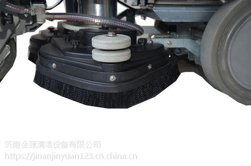 菏泽驾驶贝纳特洗地机Hussar 860B全自动地面清洗机多少钱多功能刷地擦地机