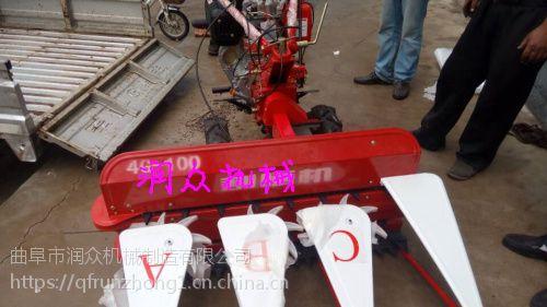 一趟多行薄荷收割机械 烟台使用的割晒机价格 润众机械