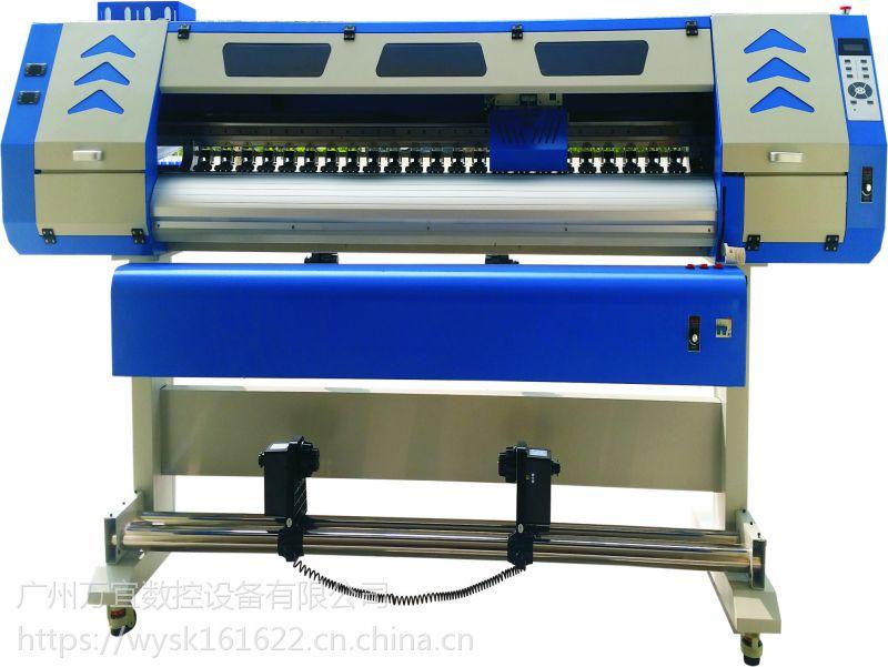 杭州专供批布裁片热转印机 t恤印花机 喷绘效果细腻 技术人员上门安装
