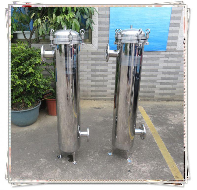 晨兴供应浙江电灯电器制造工业用大流量袋式过滤器不锈钢材质