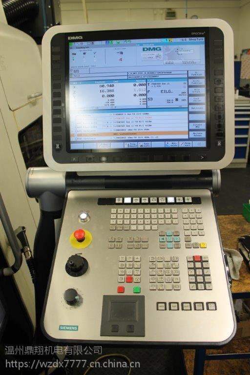 转让二手德国德玛吉CTX Beta 1250 TC五轴车铣复合加工中心