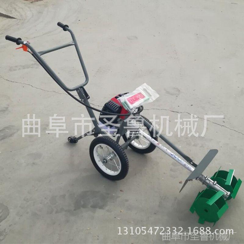 新型手推式割草机 汽油轻便除草机 小型微耕机