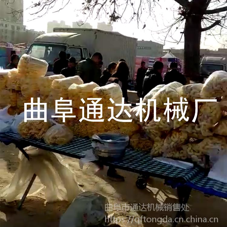通达牌车载五谷杂粮膨化机 庙会赶集玉米糖棒机厂家