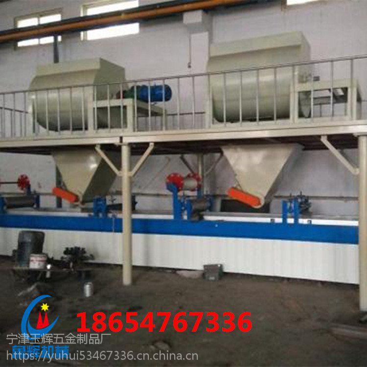 FS建筑一体化复合外模板设备厂家复合保温板生产线鲁辉机械