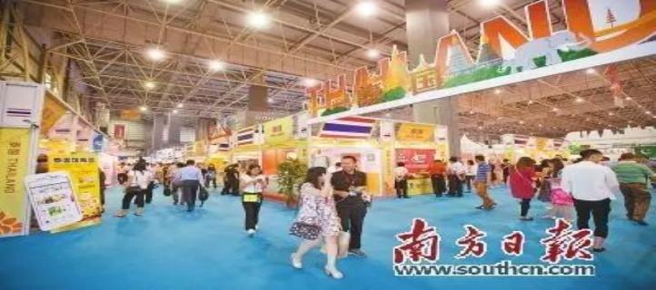 东莞海丝博览会56国特色产品吸睛又吸粉