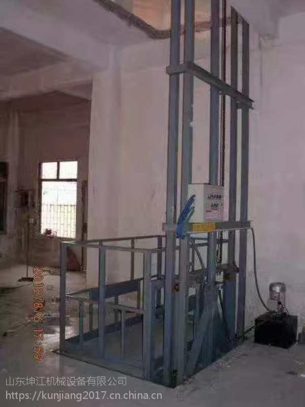 厂家生产固定升降货梯厂房货运电梯重型提升机双轨液压升降平台
