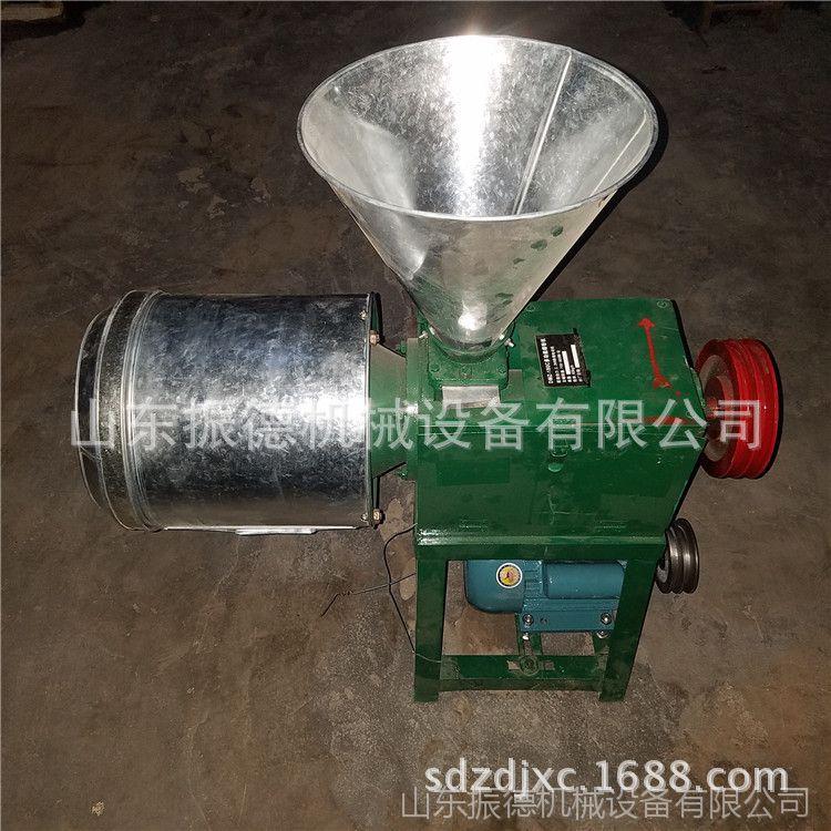 多功能五谷杂粮磨面机 粮食脱皮磨面机 振德直销 小型玉米磨面机