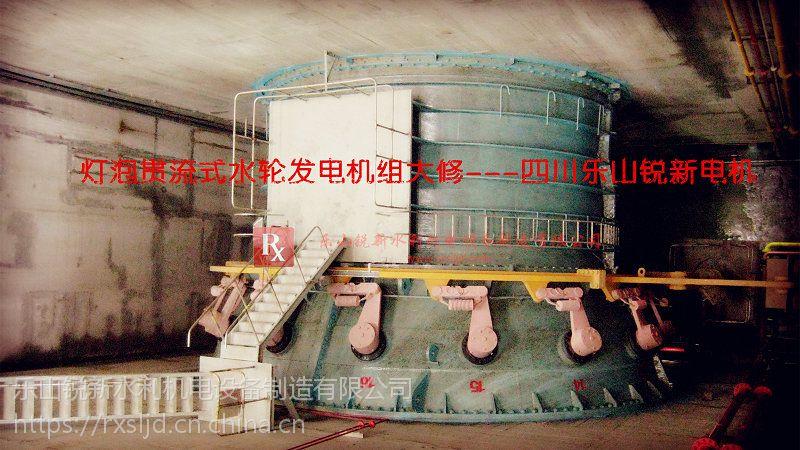 灯泡贯流式水轮发电机组大修四川乐山锐新水利机电设备制造公司