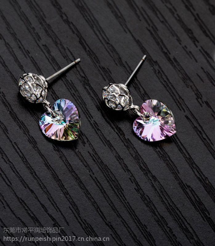 时尚精美女式耳环 饰品代加工 厂家直销