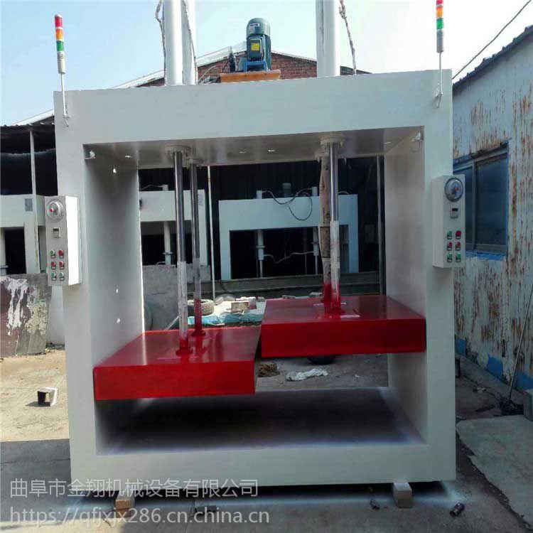 全自动套门液压式冷压机 50吨全自动钢木门冷压机 一次压板定型
