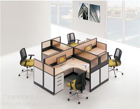 朗哥家具 职员桌 办公卡位 屏风办公桌 办公家具厂家直销26
