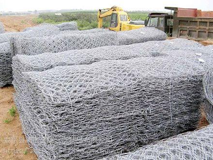 镀锌合金石笼网箱厂家供应河道防洪防汛电焊石笼网,格宾网