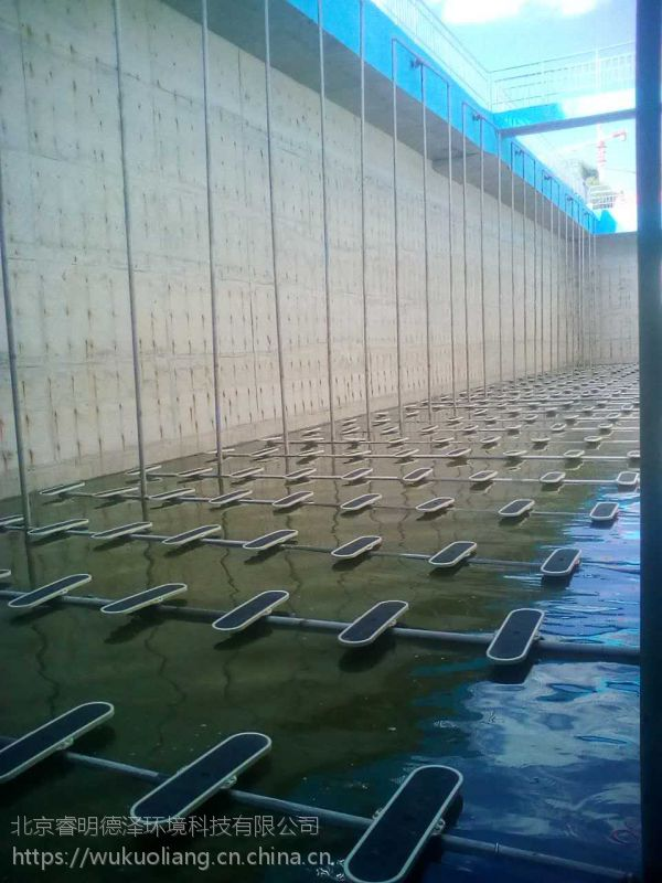 唐钢污水处理系统、微孔板式曝气器、进口板式曝气器