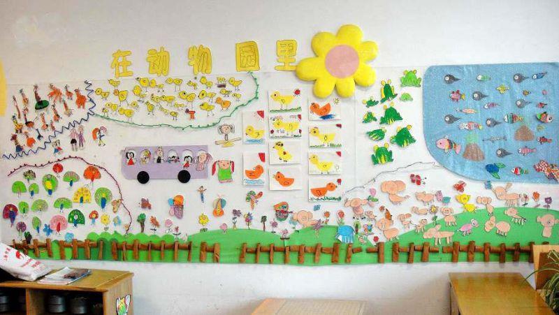 幼儿园室内主题墙设计|幼儿园主题墙设计方案图片