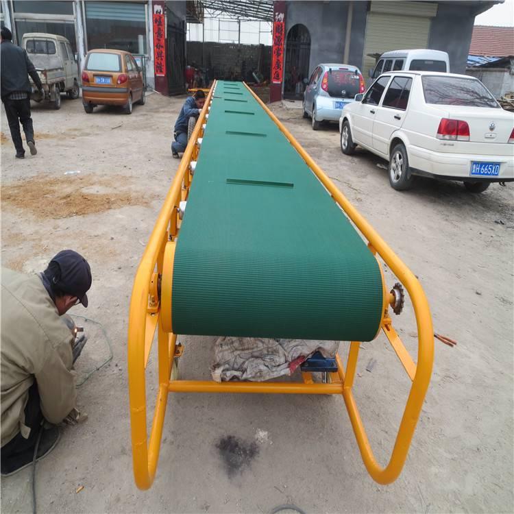 装卸车可升降皮带机 润众 大功率皮带输送机