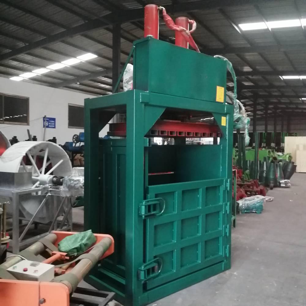 贵州棉花液压打包机 圣泰100吨液压打包机