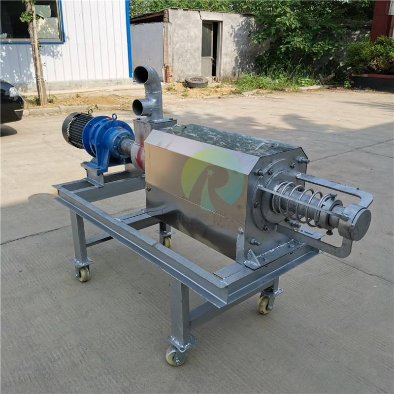 猪粪处理脱水机 猪粪固液分离机