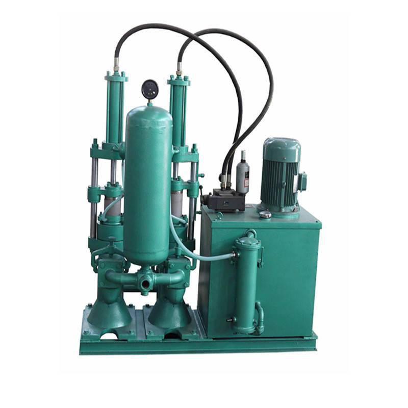 供应中拓生产YB-140D柱塞泵泥料质量高,压滤时间短
