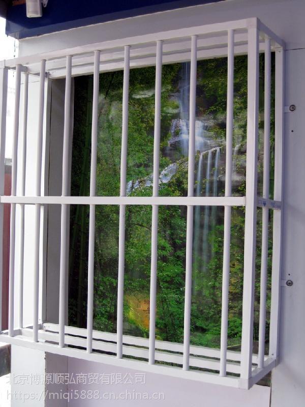 包头喷塑百叶窗,组装式空调围栏,锌钢护窗栏杆Q235HC,组装式的专利设计,安装快捷简单