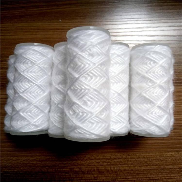 脱脂棉PP骨架线绕水滤芯40英寸