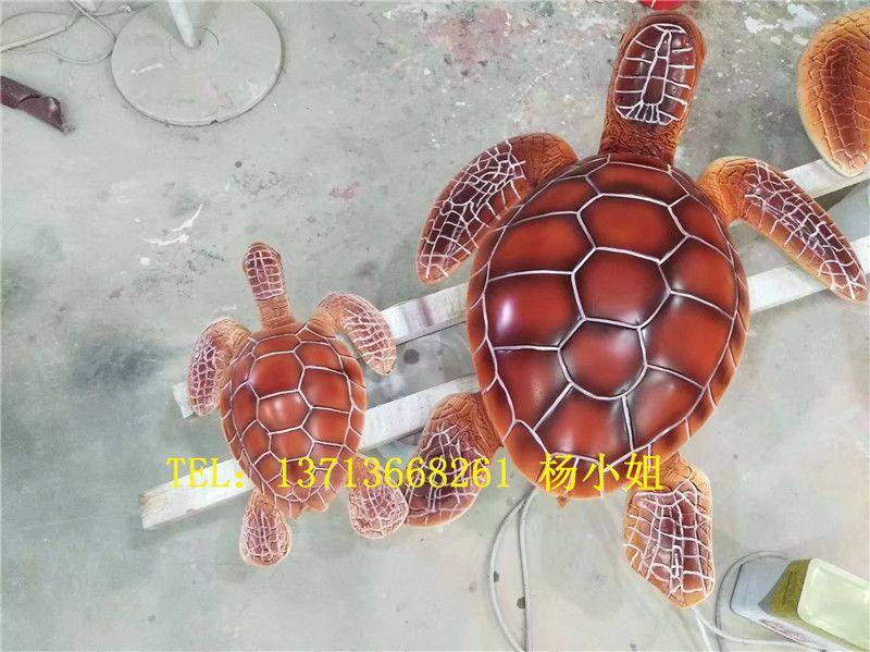 户外海龟小品雕塑玻璃钢仿真海龟雕塑价格