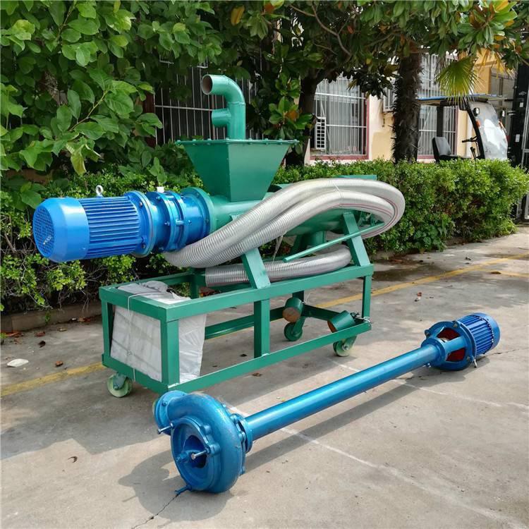 粪便挤干机在养殖场效果 润丰 固液污粪固液分离机