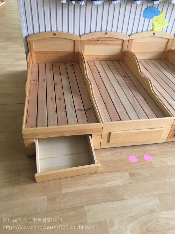 眉山幼儿小床定做各类儿童家具课桌椅质保5年