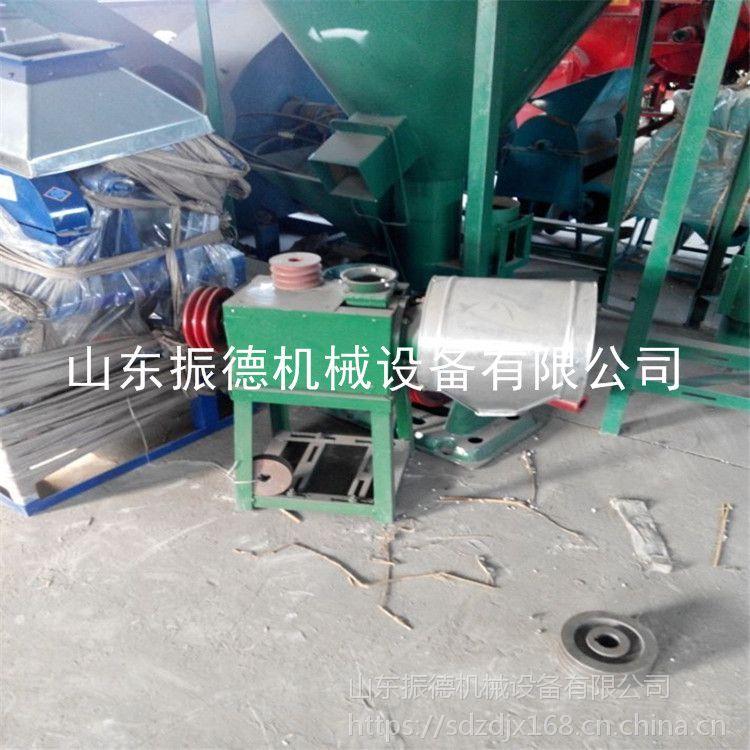 家用杂粮磨面机 小型粮食加工设备 多功能锥形磨面机 振德牌