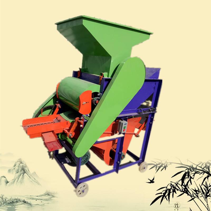 湖口县多功能无损型花生种子扒皮机 启航电动节能长果去麻壳的机器 花生米剥壳机厂家