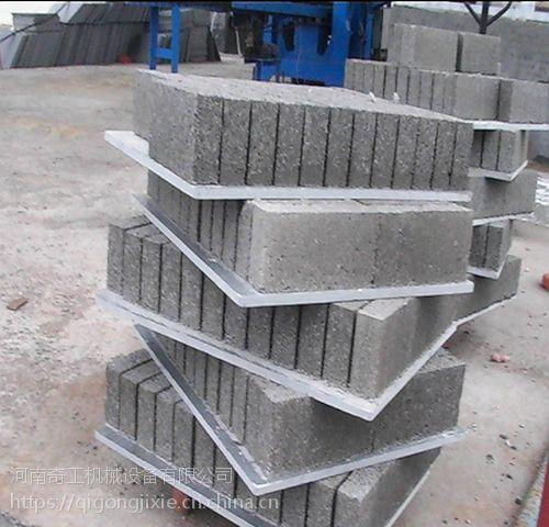 陕西省奇工机械厂供应5-15全自动水泥免烧砖机 透水植草面包砖机 多功能护坡砖机 免费安装